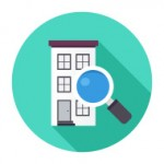 stock-illustration-43444784-flat-apartment-search-icon